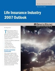 Life Insurance Industry 2007 Outlook [uniquement en anglais