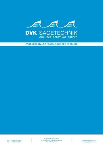 Produktkatalog / Catalogue des produits