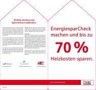 Haspa EnergiesparCheck - Co2-Sparhaus