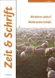 Heft 3/2012 - Zeit & Schrift