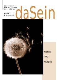 Ausgabe 4/2004 - Tod, Trauer - Vorarlberg