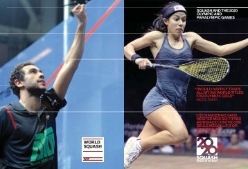 i would happily trade all my six world titles for ... - Squash 2020
