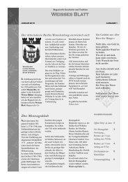 Weisses Blatt - Neue Deutsche Monarchie eV