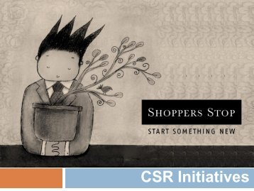 CSR Initiatives - Shoppers Stop