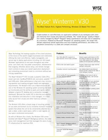 Wyse® Winterm™ V30 - Wyse Outlet Store