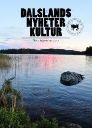 No 1 September 2011 - Dalslands Turist AB