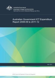 Australian Government ICT Expenditure Report 2008-09 to 2011-12