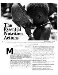 The Essential Nutrition Actions - basics