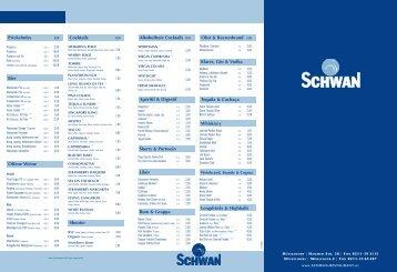 Schwan Speisekarte 211008