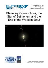 Planetary Conjunctions, the Star of Bethlehem and the ... - INAF-OAT