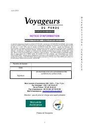 Téléchargez Convention Annulation - Voyageurs du Monde