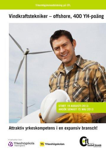 YH vindkraftstekniker folder 2013.pdf - CFL