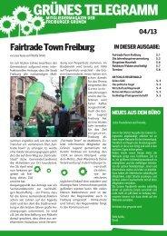 04/2013 - Bündnis 90/Die Grünen in Freiburg