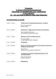 Programm 9. GreCon-Brandschutzsymposium