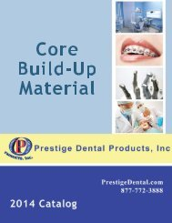 Core Build-Up Material - Prestige Dental Products
