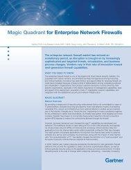 Magic Quadrant for Enterprise Network Firewalls - iT-CUBE