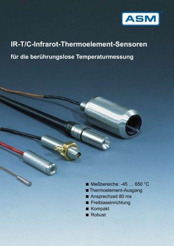 IR-T/C-Infrarot-Thermoelement-Sensoren für die ... - ASM GmbH