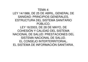 ley 13 1986 de 14: