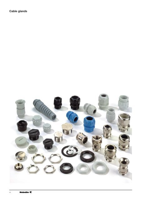 20x M25 PG Cable Glands