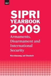 SIPRI Jahrbuch 2009