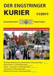 KURIER - Engstringer Kuriers