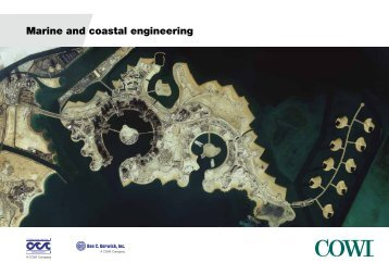 Marine and coastal engineering - Cowi