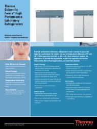 Thermo Scientific Forma® High Performance Laboratory Refrigerators