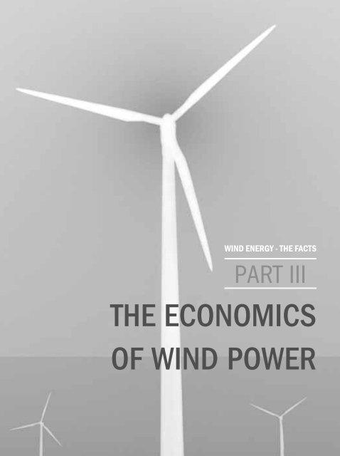THE ECONOMICS OF WIND POWER