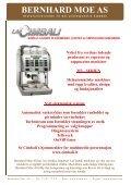 Helautomatiske maskiner maler kaffebønnene ... - Bernhard Moe AS - Page 2