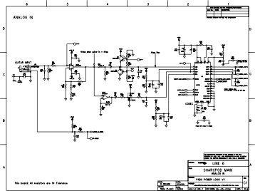 LINE 6 Variax Parts List