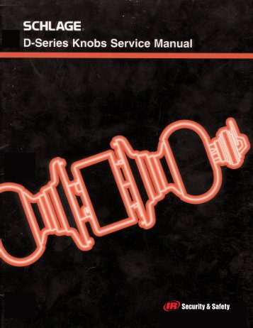 D-Series Service Manual