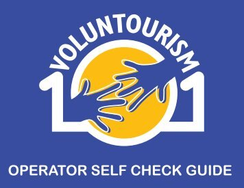 OPERATOR SELF CHECK GUIDE - Voluntourism 101