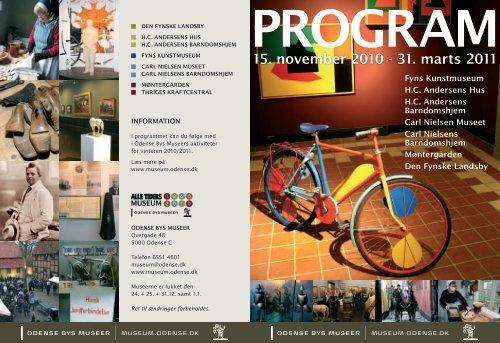 15. november 2010 - 31. marts 2011 - Odense Bys Museer
