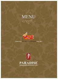 NTR Gardens - Paradise food court