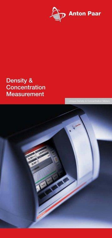 the new DMA Generation M density meters - MEP Instruments