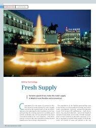 Fresh Supply - Siemens Industry, Inc.
