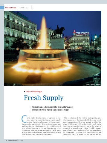Fresh Supply - Siemens Industry, Inc.