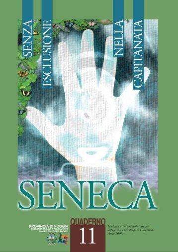 I Quaderni Seneca per prevenire e contrastare la ... - Spazio Sociale