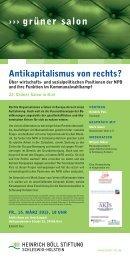 Einladungsflyer - Landeszentrale für politische Bildung Schleswig ...