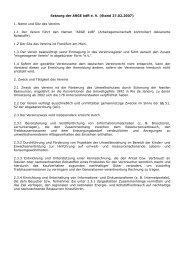 Satzung der ARGE kdR e. V. (Stand 27.02.2007) 1. Name und Sitz ...