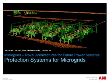 Protection Systems for Microgrids
