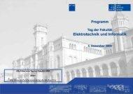 Programm - Fakultät für Elektrotechnik und Informatik - Leibniz ...
