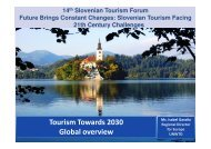 Tourism Towards 2030 Global overview