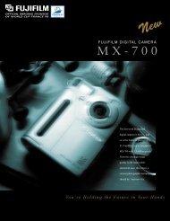 MX-700 Brochure - Fujifilm USA
