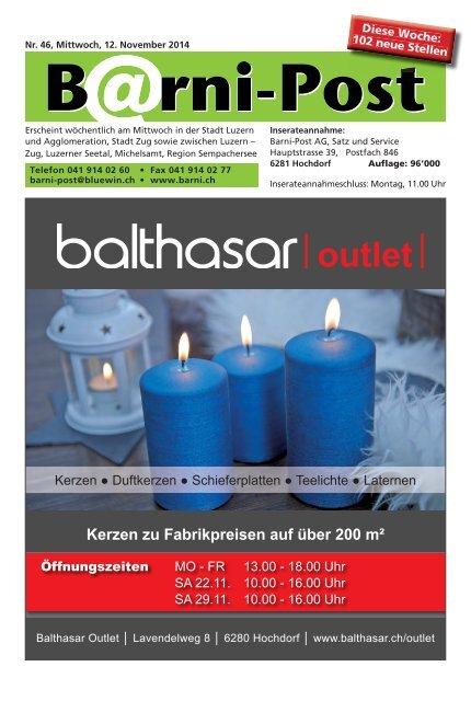 Barni-Post, KW46, 12. November 2014