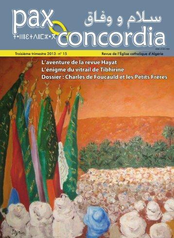 et concordia - Église Catholique d'Algérie