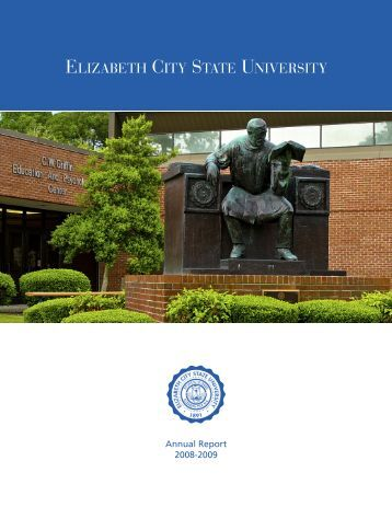 2008-09 Annual Report - Elizabeth City State University