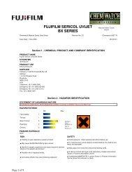 FUJIFILM SERICOL UVIJET BX SERIES - FUJIFILM Australia