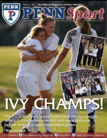 Penn Sport_Winter08.indd - University of Penn Athletics