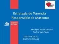 Tenencia Responsable de mascota - SEREMI de Salud Región ...